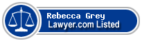 Rebecca Grey Lawyer Badge