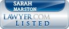 Sarah Marston Lawyer Badge