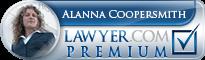 Alanna Coopersmith Lawyer Badge