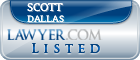 Scott Dallas Lawyer Badge