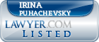 Irina Puhachevsky Lawyer Badge