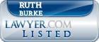 Ruth Burke Lawyer Badge