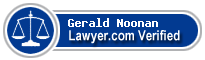 Gerald J Noonan  Lawyer Badge