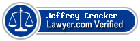 Jeffrey R Crocker  Lawyer Badge