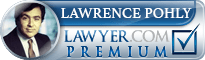 Lawrence Pohly  Lawyer Badge