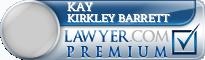 Kay Kirkley Barrett  Lawyer Badge