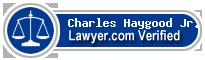 Charles B Haygood Jr.  Lawyer Badge