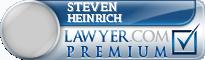 Steven A Heinrich  Lawyer Badge