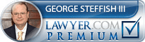 George J. Steffish III  Lawyer Badge
