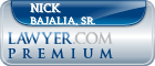 Nick M. Bajalia, Sr.  Lawyer Badge