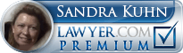 Sandra A Kuhn  Lawyer Badge