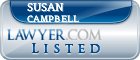 Susan Campbell Lawyer Badge