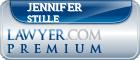 Jennifer E. Stille  Lawyer Badge