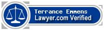 Terrance W Emmens  Lawyer Badge