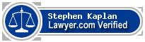 Stephen J Kaplan  Lawyer Badge