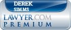 Derek Simms  Lawyer Badge