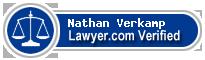 Nathan Verkamp  Lawyer Badge