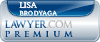 Lisa Brodyaga  Lawyer Badge