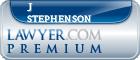 J Michael Stephenson  Lawyer Badge