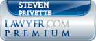 Steven A. Privette  Lawyer Badge