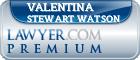 Valentina Stewart Watson  Lawyer Badge