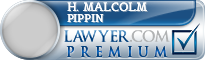 H. Malcolm Pippin  Lawyer Badge