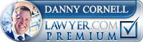 Danny Cornell  Lawyer Badge