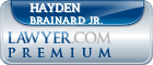 Hayden R Brainard Jr.  Lawyer Badge