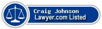 Craig Johnson Lawyer Badge