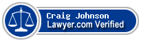 Craig E Johnson  Lawyer Badge