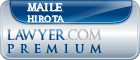 Maile M Hirota  Lawyer Badge