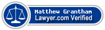 Matthew G Grantham  Lawyer Badge