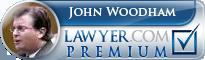 John F Woodham  Lawyer Badge