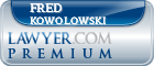 Fred Kowolowski  Lawyer Badge
