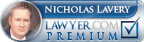 Nicholas Lavery  Lawyer Badge