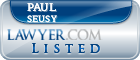 Paul Seusy Lawyer Badge
