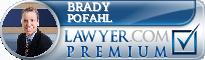 Brady C Pofahl  Lawyer Badge