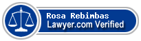 Rosa C. Rebimbas  Lawyer Badge