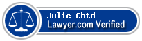 Julie A Schejbal Chtd  Lawyer Badge