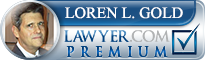 Loren L. Gold  Lawyer Badge