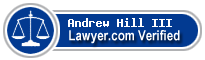 Andrew J Hill III  Lawyer Badge