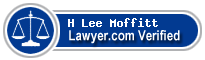 H Lee Moffitt  Lawyer Badge