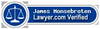 James Monsebroten  Lawyer Badge