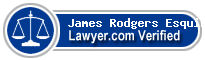 James M Rodgers Esquire  Lawyer Badge