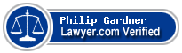 Philip G Gardner  Lawyer Badge