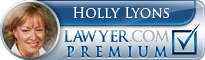 Holly L Lyons  Lawyer Badge