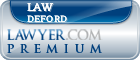 Law Deford  Lawyer Badge