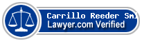 Carrillo Reeder Smith  Lawyer Badge
