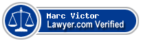 Marc J Victor  Lawyer Badge