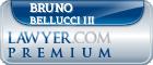 Bruno Bellucci III  Lawyer Badge